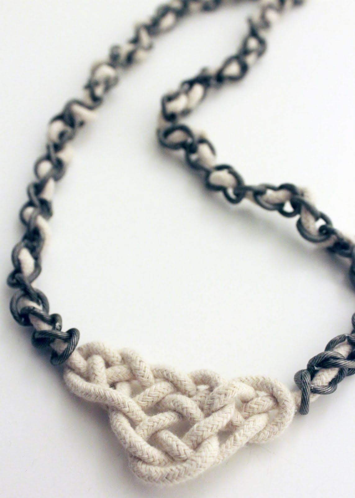 Tutorial celtic knot necklace decor diy pinterest celtic