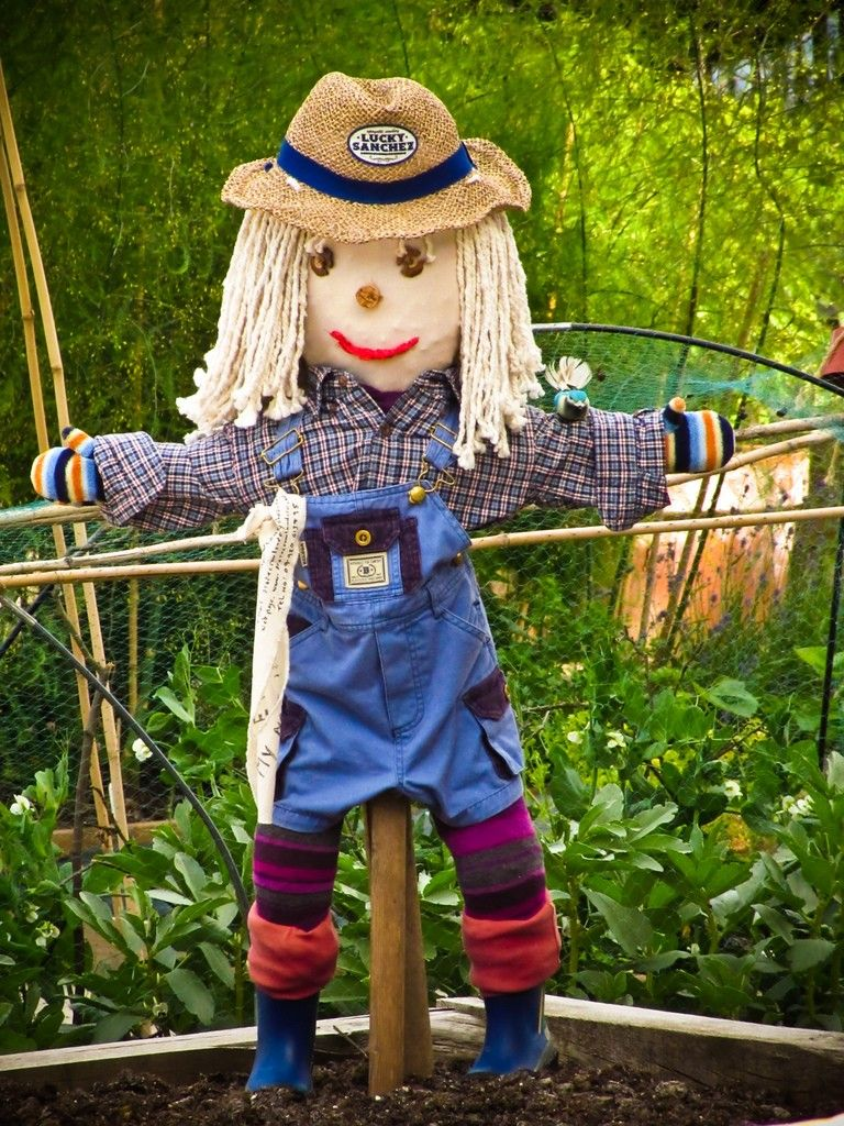Garden Ideas For Kids To Make scarecrows in the garden – creating garden scarecrows with kids