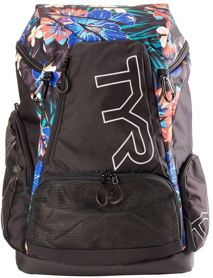 Small TYR Girl Alliance Team Backpack Black//Pink