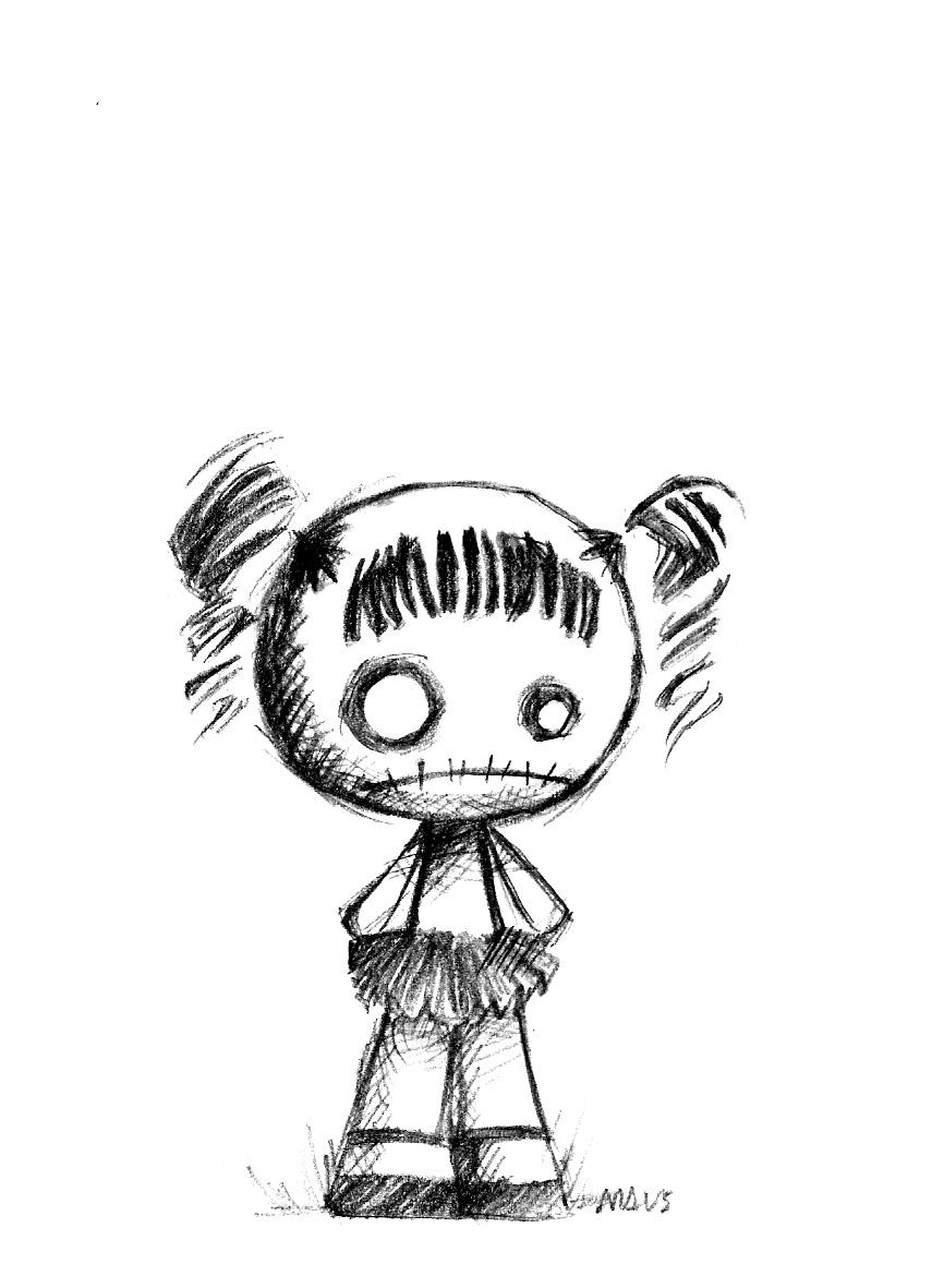 Rag Doll Love It Doll Drawing Voodoo Doll Tattoo Doll Tattoo