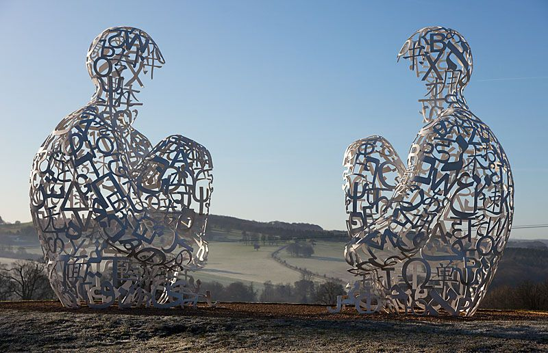 Jaume Plensa - Yorkshire park sculpture