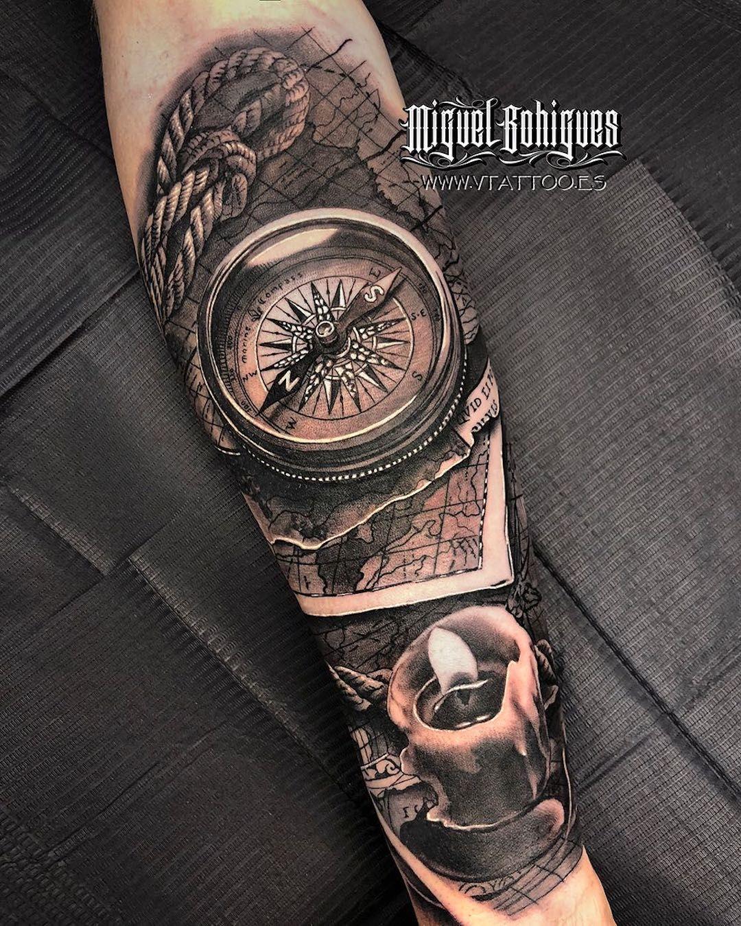 Tatuaje De Miguel Bohigues En V Tattoo Estudio De Tatuajes En