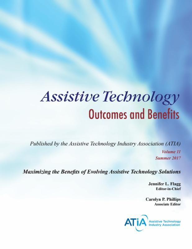 Atob Volume 11 Cover Technology Solutions Technology Industry Assistive Technology