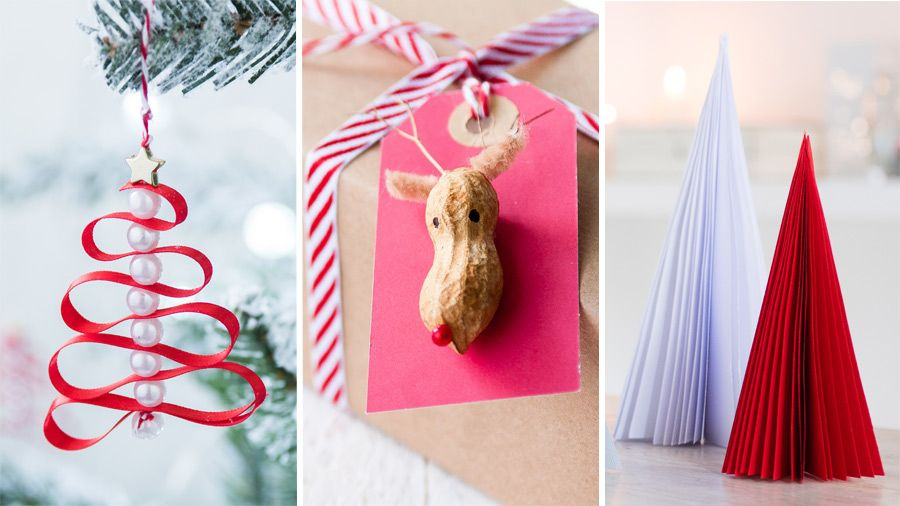 Ideas For Christmas Crafts To Make Part - 17: Forget Expensive Christmas Decorations, Make Your Own With These Easy  Money-saving Ideas.
