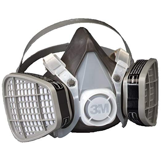 3m Half Facepiece Disposable Respirator Assembly 5301 21577 Organic Vapor Respiratory Protection Large Pack Of 1 Review Personal Protective Equipment Air Purifier Half Mask