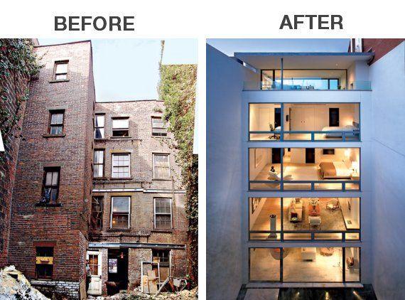 Modernized old houses