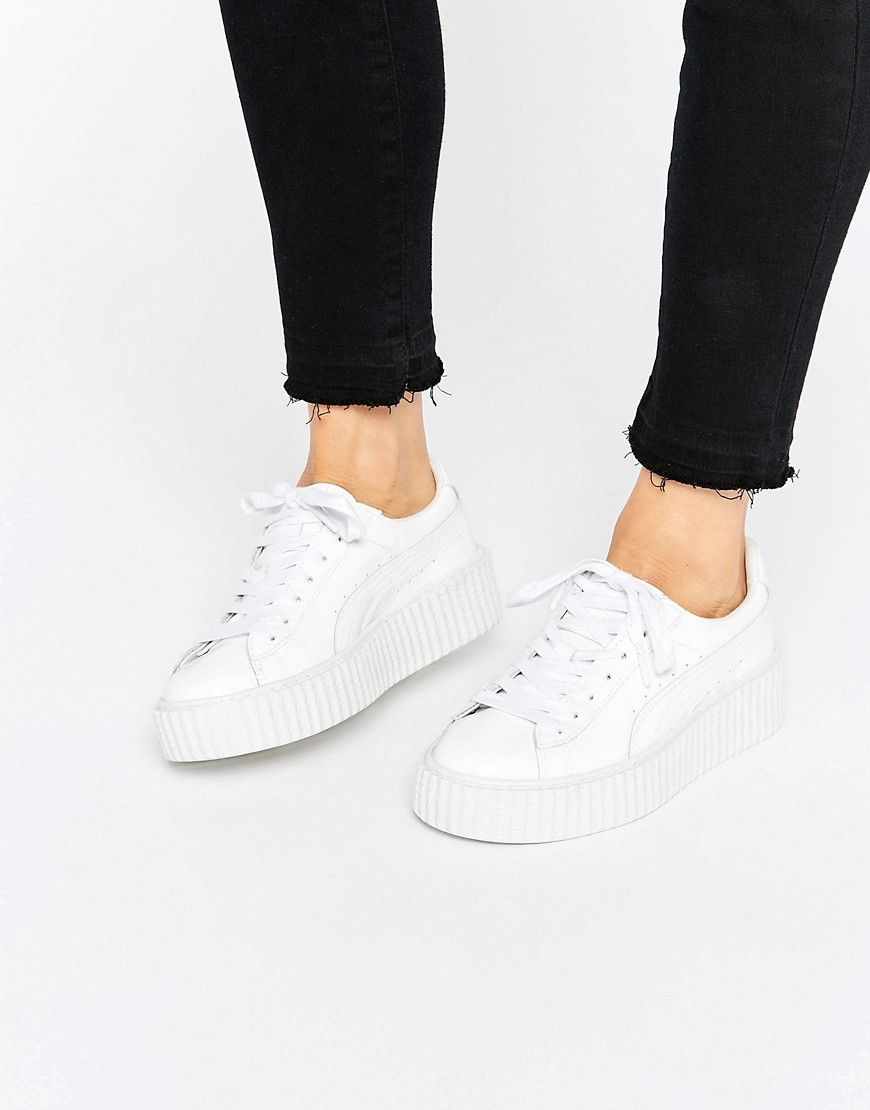 zapatillas puma rihanna blancas