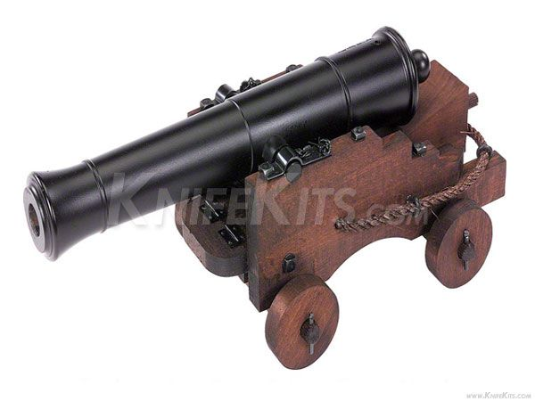 Traditions™ - Old Ironsides - Black Powder Cannon - Parts