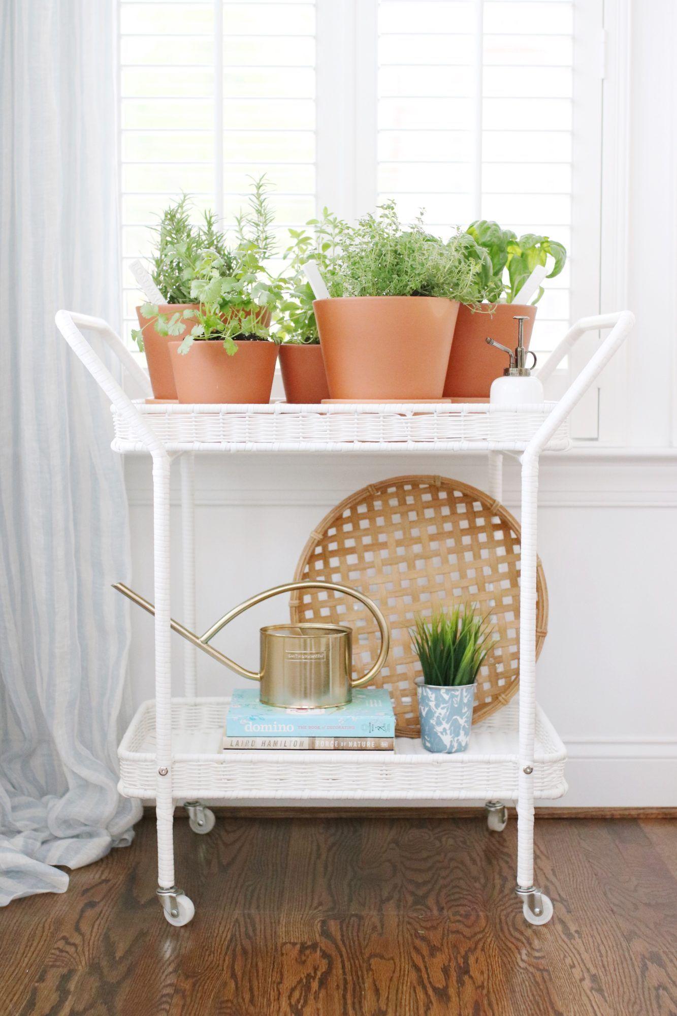 Indoor Herb Garden Cart Herbs Indoors Indoor Herb 400 x 300