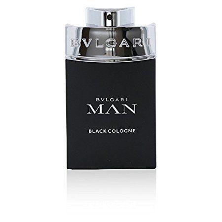 Bvlgari Man Cologne Eau de Toilette Spray, Black, 3.4 Ounce