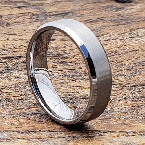 2 Trauringe Eheringe Hochzeit Verlobung Wolfram Tungsten /& gratis Lasergravur