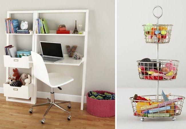 Mesa,estantería y cajones