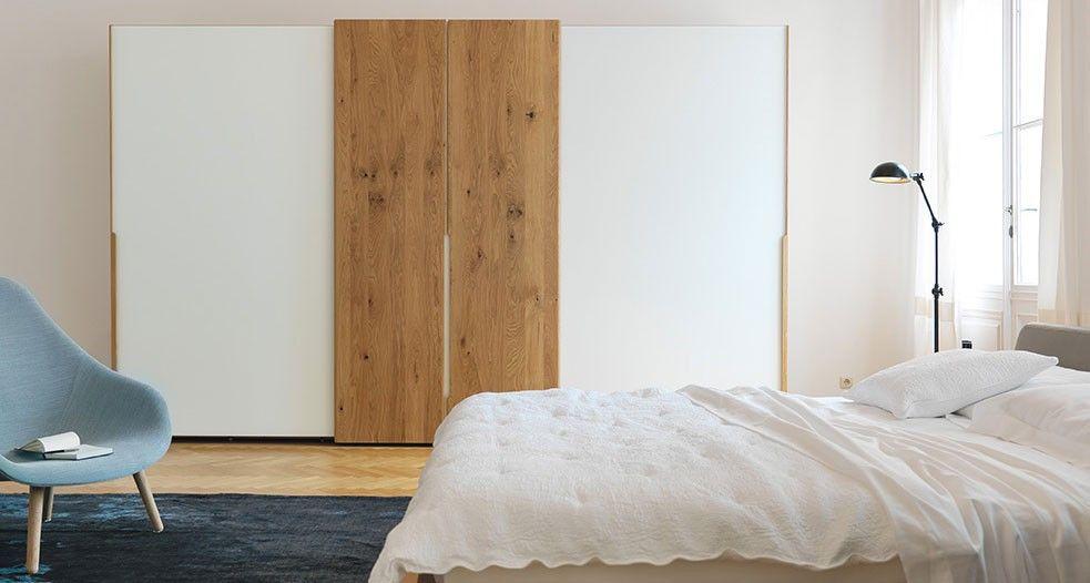nox Schrank für das Schlafzimmer - mit solider Materialstärke TEAM