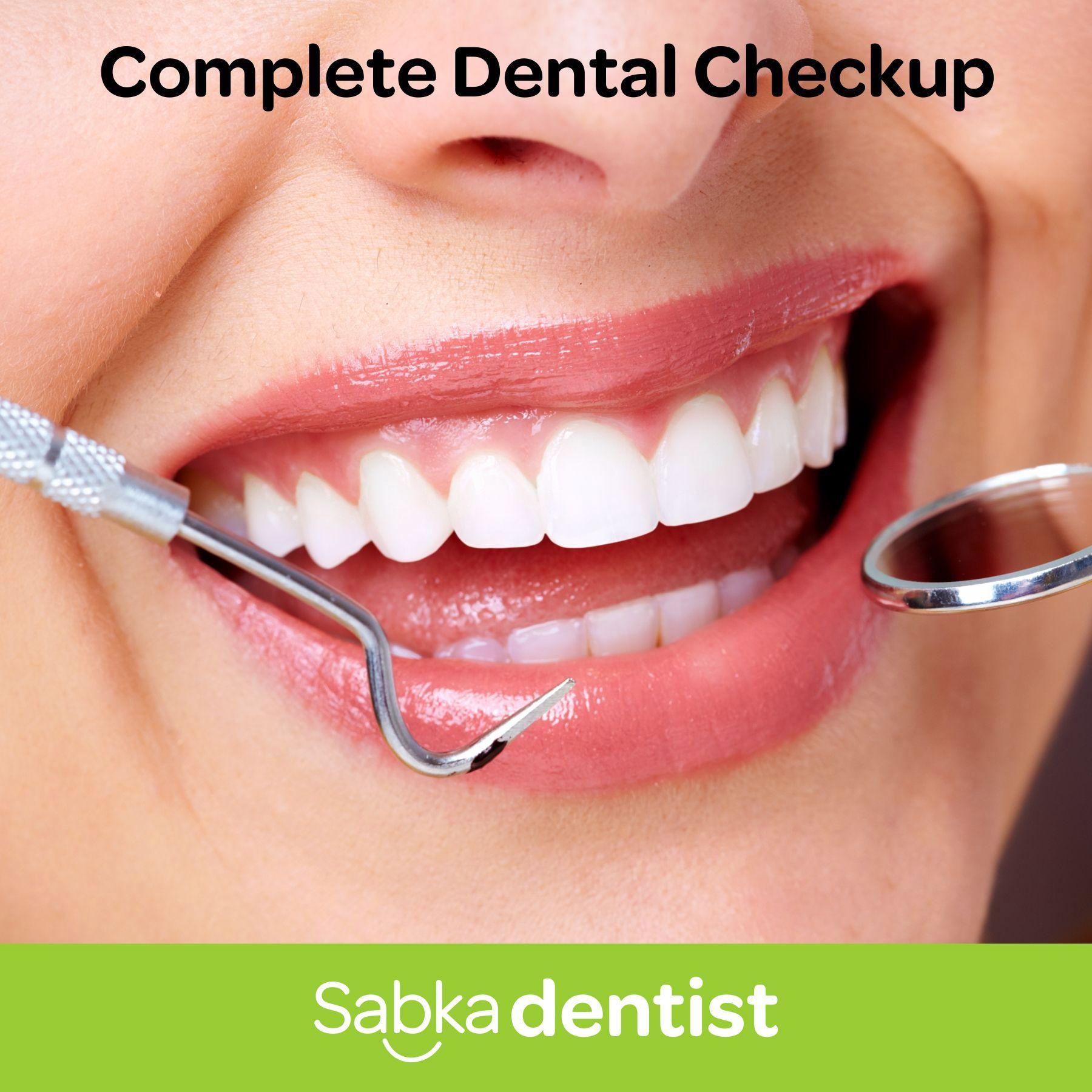 Regular dental checkups will help you maintain a healthier