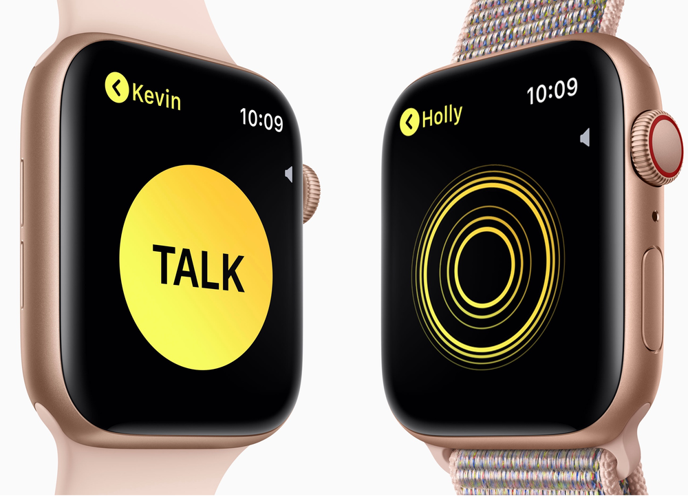 Apple disables the Apple Watch's Walkie Talkie feature due
