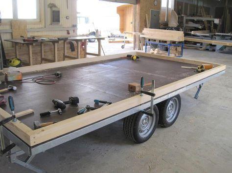 Zirkuswagen Anhänger 4 Meter Fahrgestell