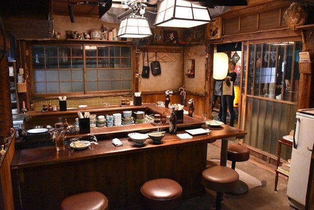 飯は食えず!でも深夜食堂いってきた! - シネマトゥデイ | 日本料理店のインテリア, レストランのデザイン ...