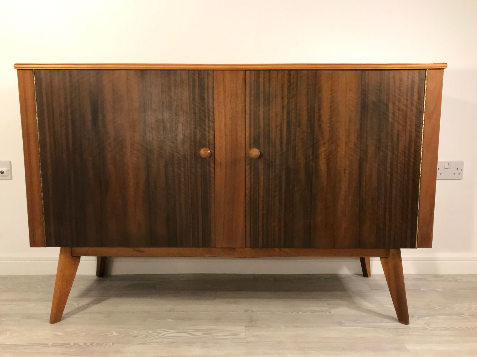 Walnut Sideboard By Neil Morris For Morris Of Glasgow 1950s