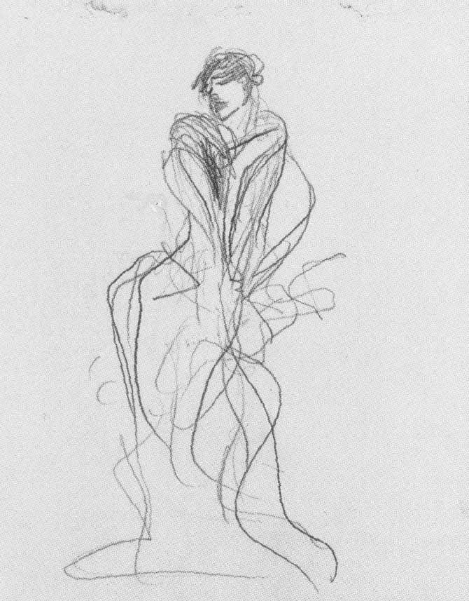 Line Art Figures : John singer sargent study for el jaleo art pinterest
