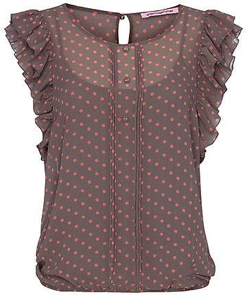 dfe9ef61468b39 Blouse by Fornarina  blouse  engelhorn  fornarina  fifties ...