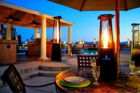 Exceptional Patio Heaters Extend Outdoor Restaurant Patio Season