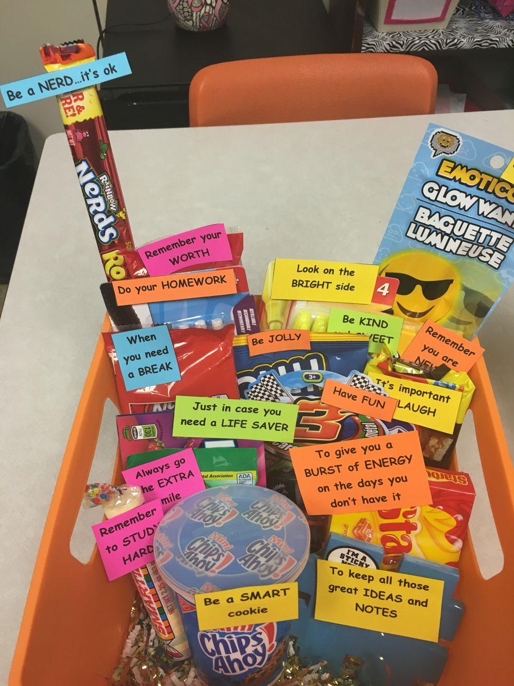 High School Survival Kit Treat Holders Pinte