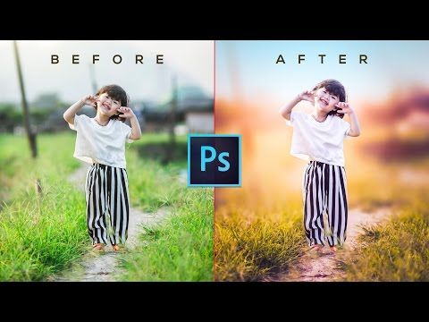 How to edit raw photos in photoshop