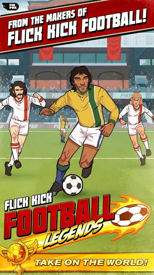 Flick Kick Football Legends APK MOD Unlimited Money