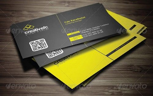 edgy business cards