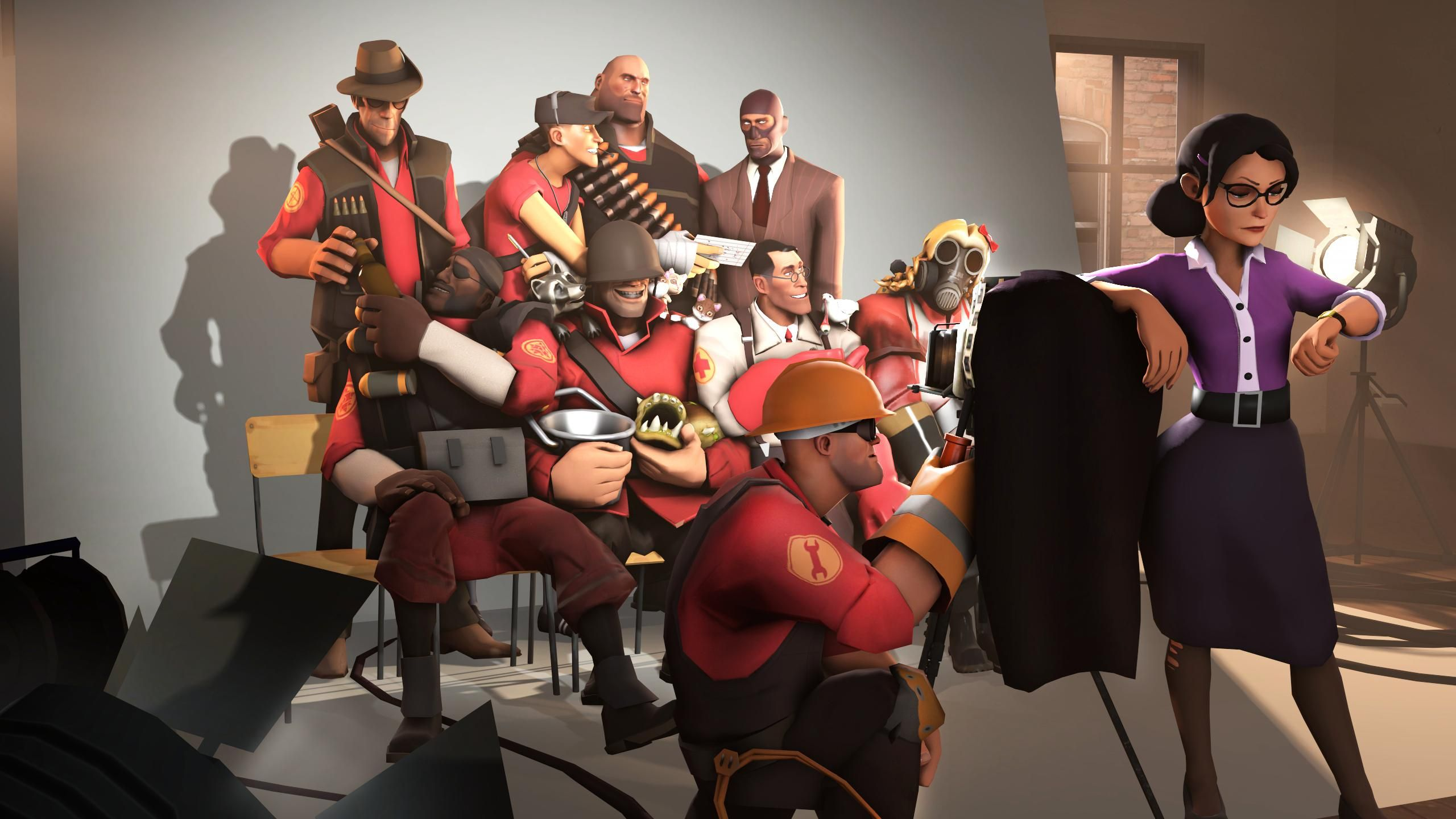 [SFM Poster] Group Photo! #games #teamfortress2 #steam #tf2 #SteamNewRelease #gaming #Valve ...