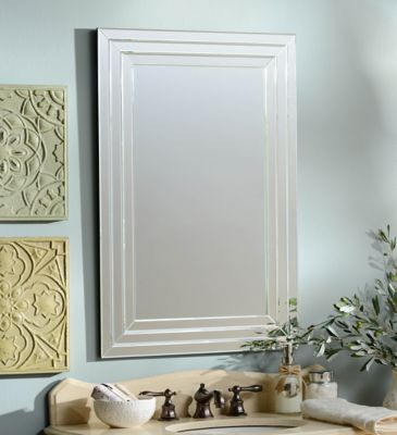 Product Details Infinity Frameless Wall Mirror 24x36 in