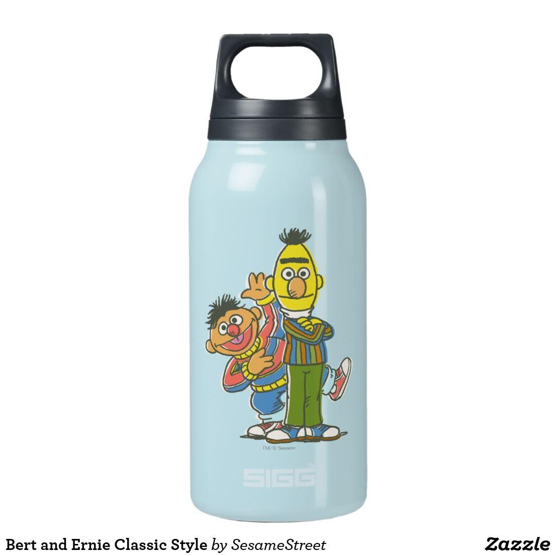 Personalized Sesame Street Bert /& Ernie Water Bottle