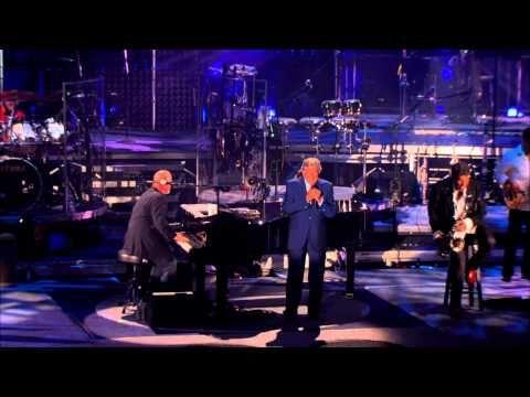Billy Joel New York State Of Mind Live At Shea Stadium July 2008 Ft Tony Bennett Billy Joel Billy Joel New York Tony Bennett