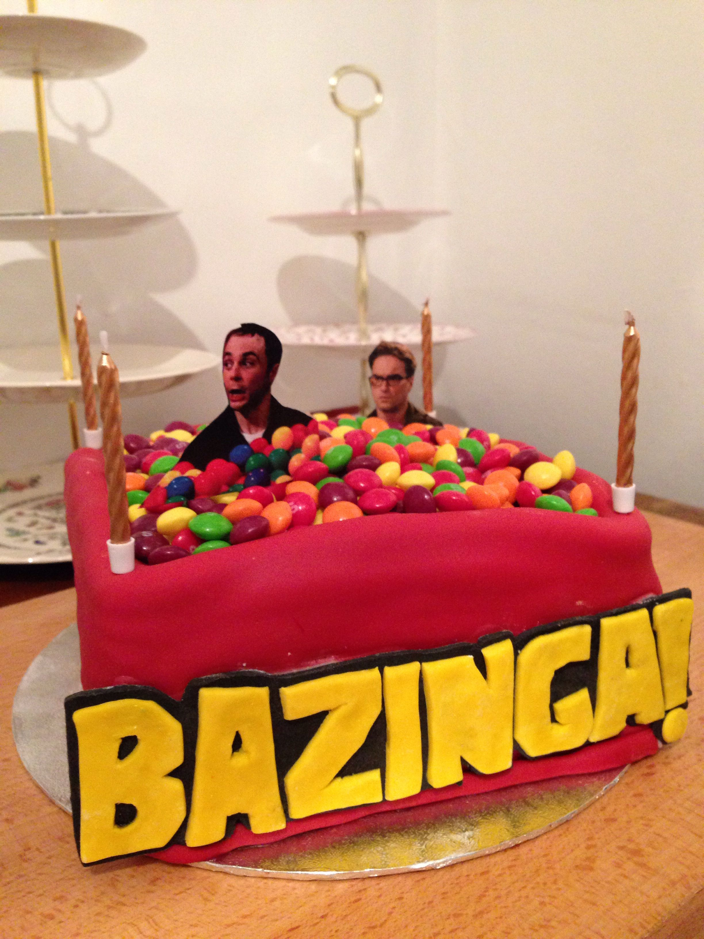 The Big Bang Theory Cake Want It For My Birthday