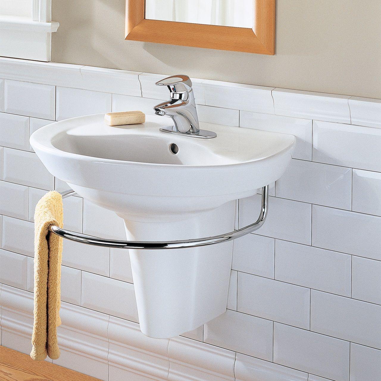 Genial Bathroom Sinks   Ravenna Wall Mount Sink   White