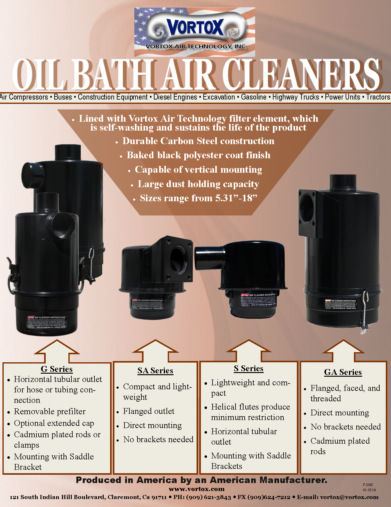 Did you know...in 1918 Vortox invented the Oil Bath Air