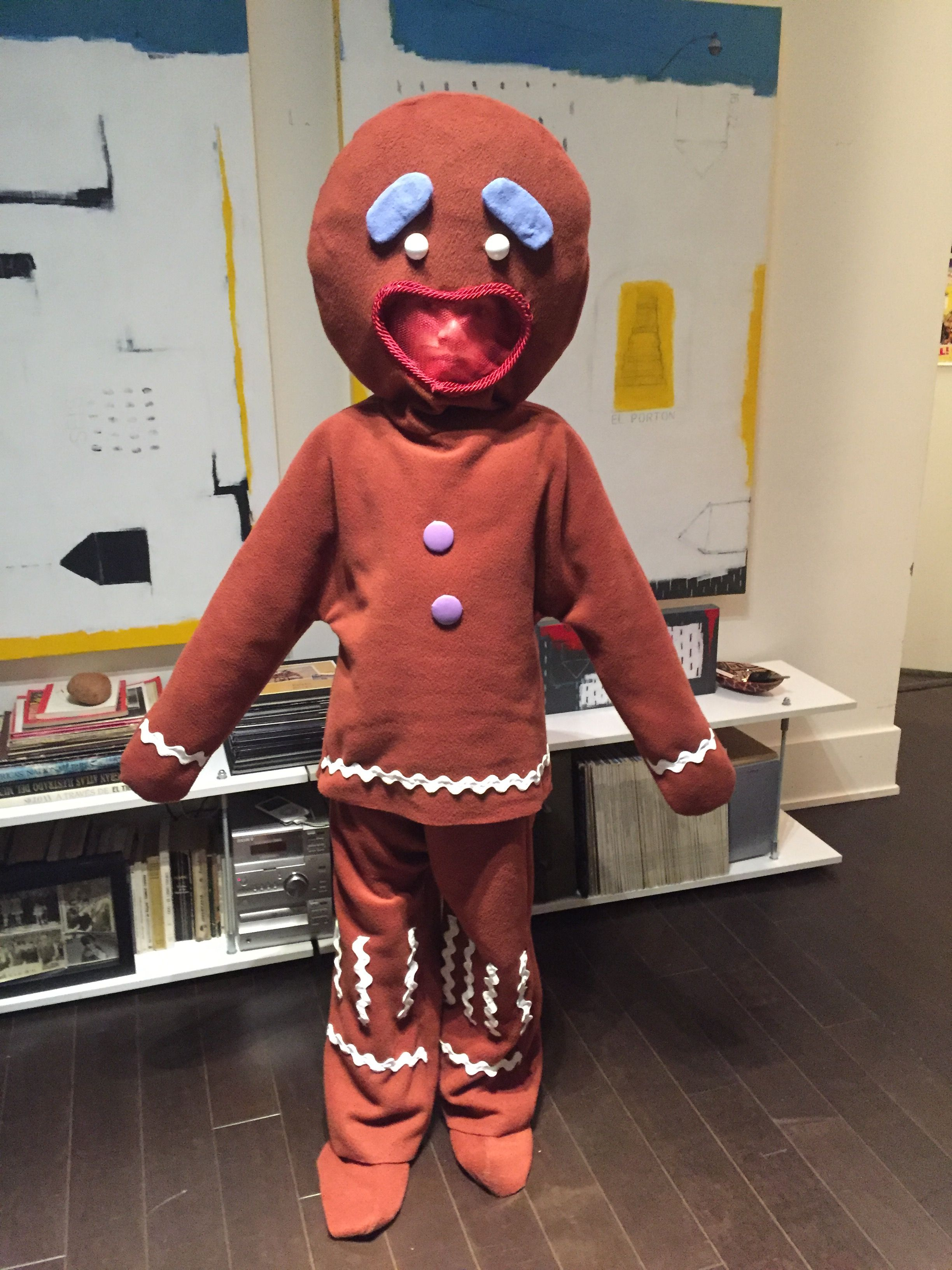 Gingy is done! Shrek costume