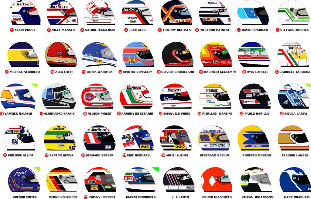 Pin by E Trinder on F1 Racing Driver Helmets in 2020 (With