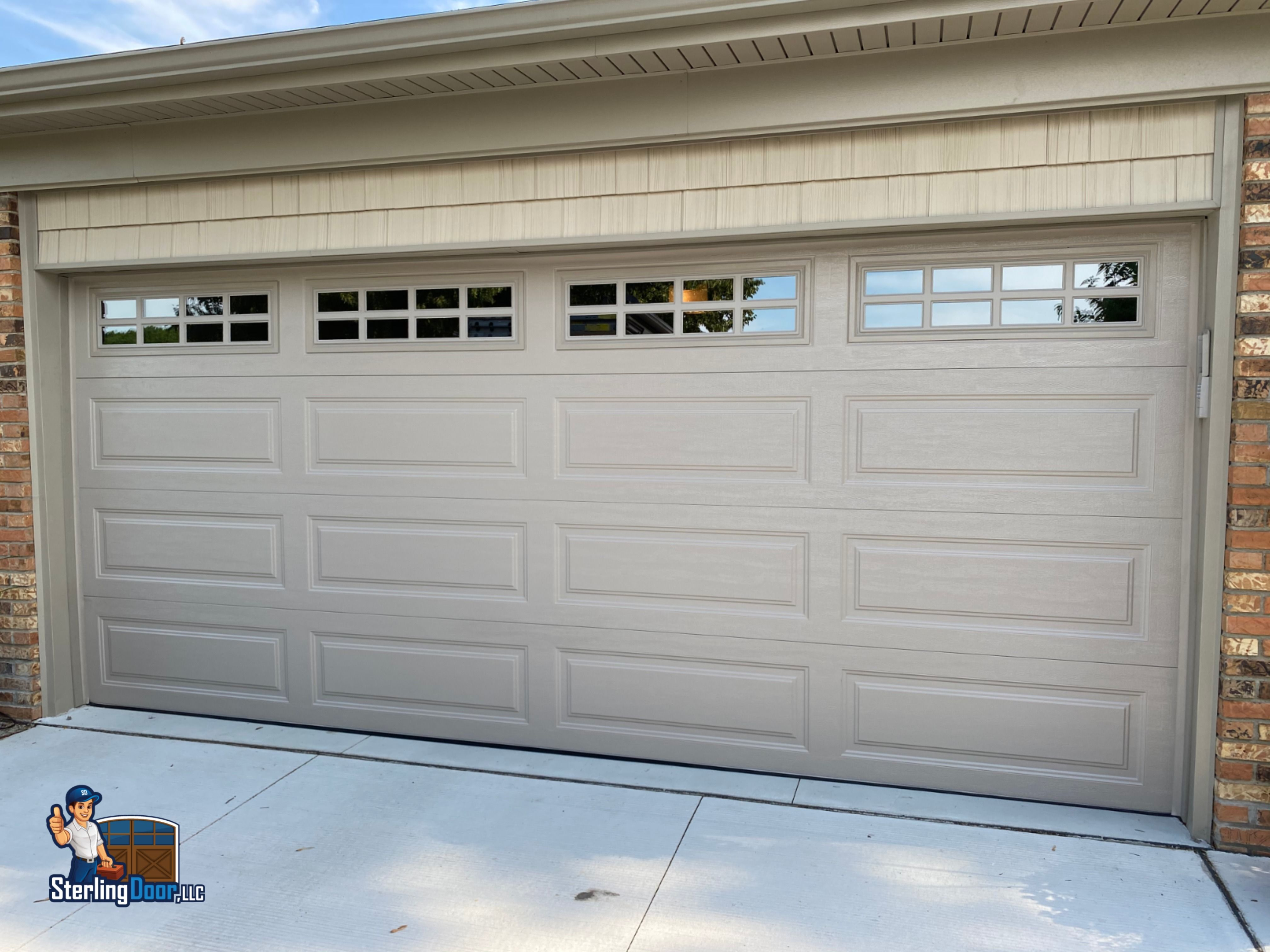 Clopay Classic Premium Collection Garage Door Sterling Door In 2020 Garage Doors Doors Garage Door Windows