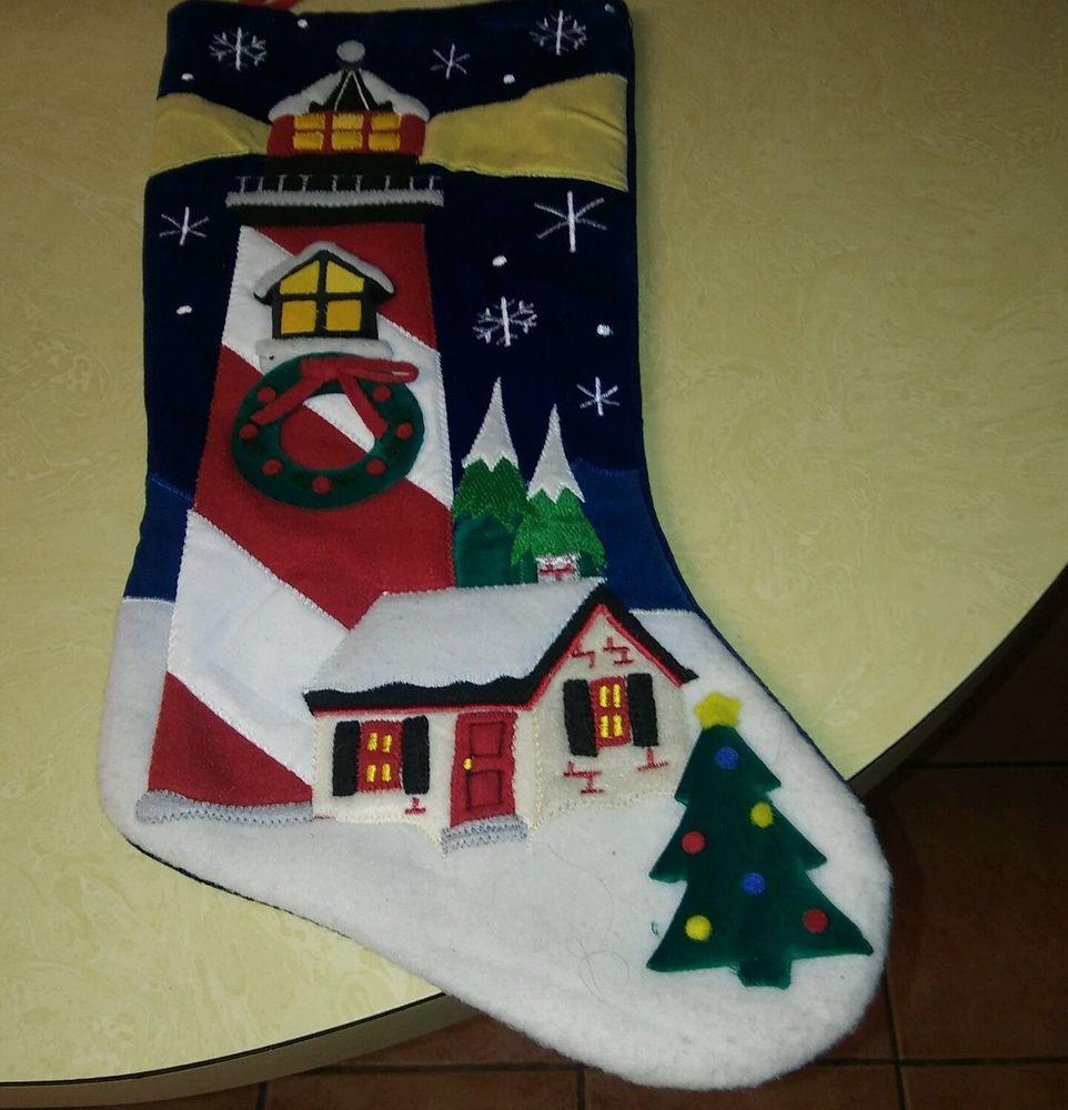 15 Felt Applique Stocking Kit 33701 Skiing Santa Bucilla