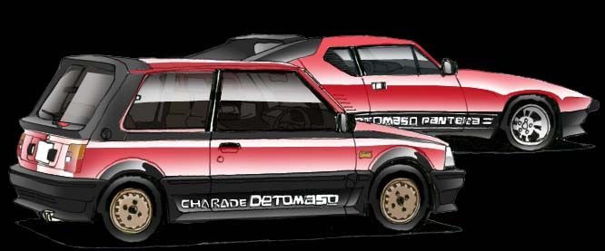 Daihatsu Sharade Detomaso Turbo Dengan Gambar Mobil