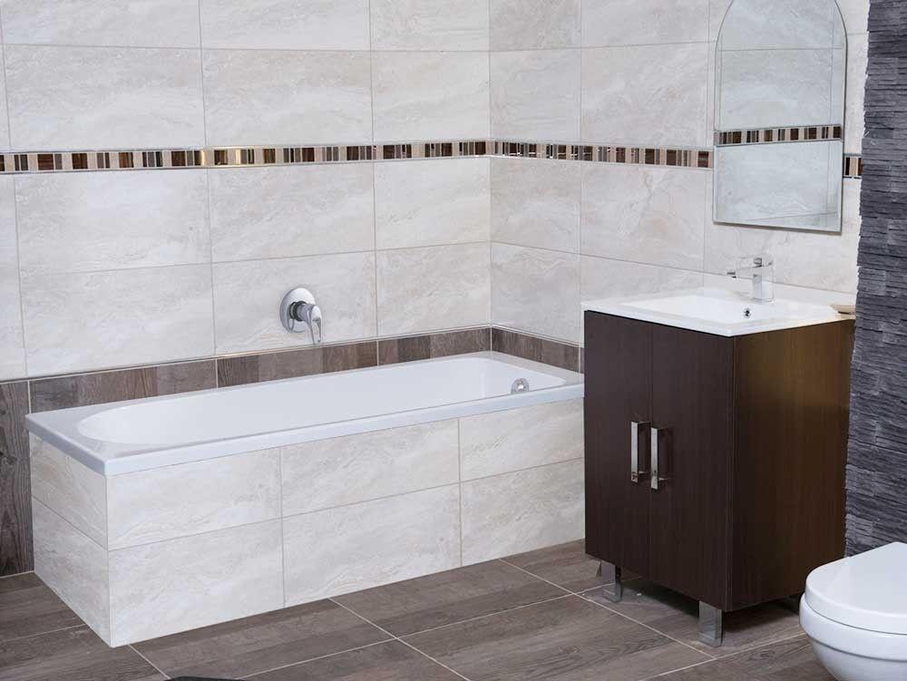 White Atlantis Bath | CTM | Straight baths, Built in bath ...