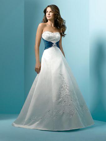 White And Blue Of My Bridal Gown Abiti Da Sposa Blu Abiti Da