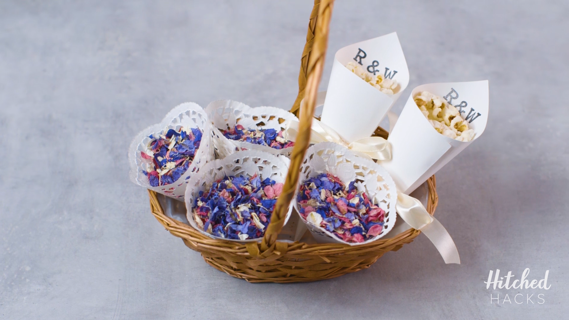 Hitched Hacks: How to Make Your Own DIY Confetti Cones