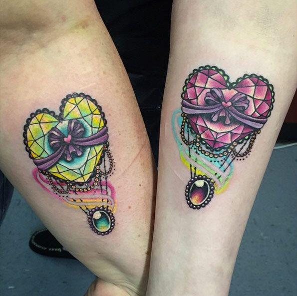 32 Perfect Best Friend Tattoo Designs  Friend Tattoos -8584