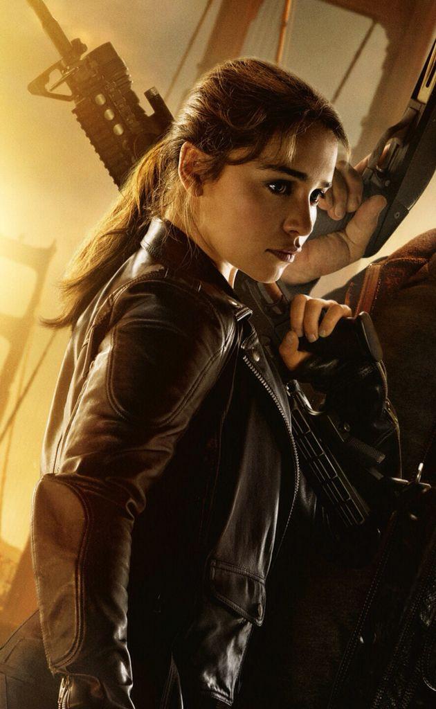 Emilia clarke as sarah connor in terminator genesys - Sarah connor genisys actress ...