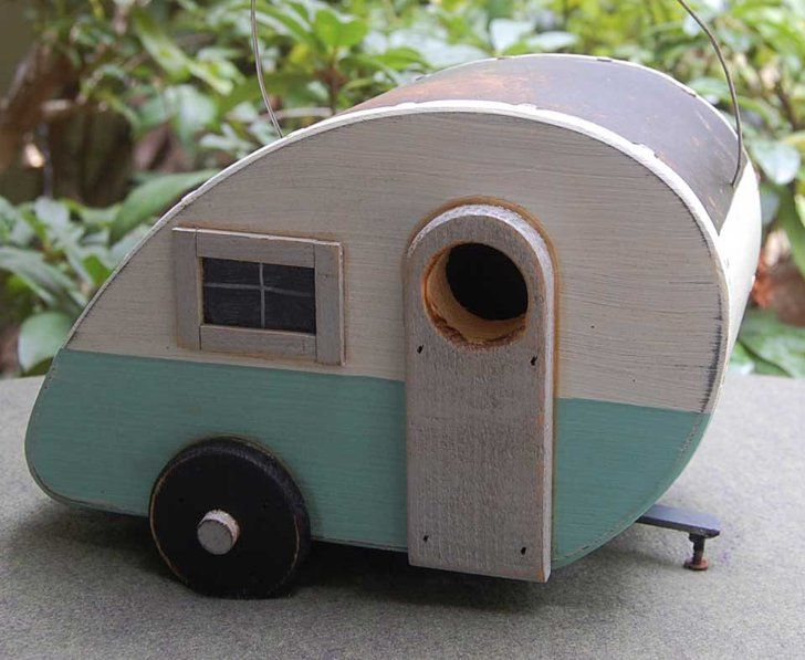 Pin for Later: The Best Etsy Shops For Outdoor Decorating Birdhouse20