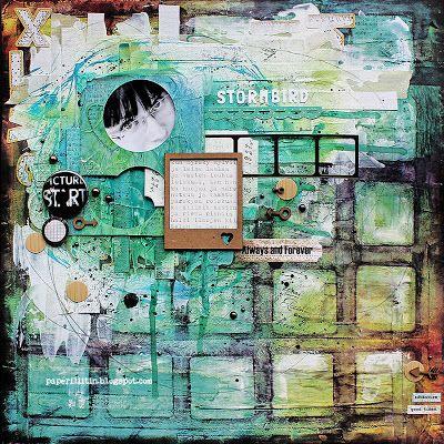 Riikka Kovasin - Paperiliitin: Stormbird