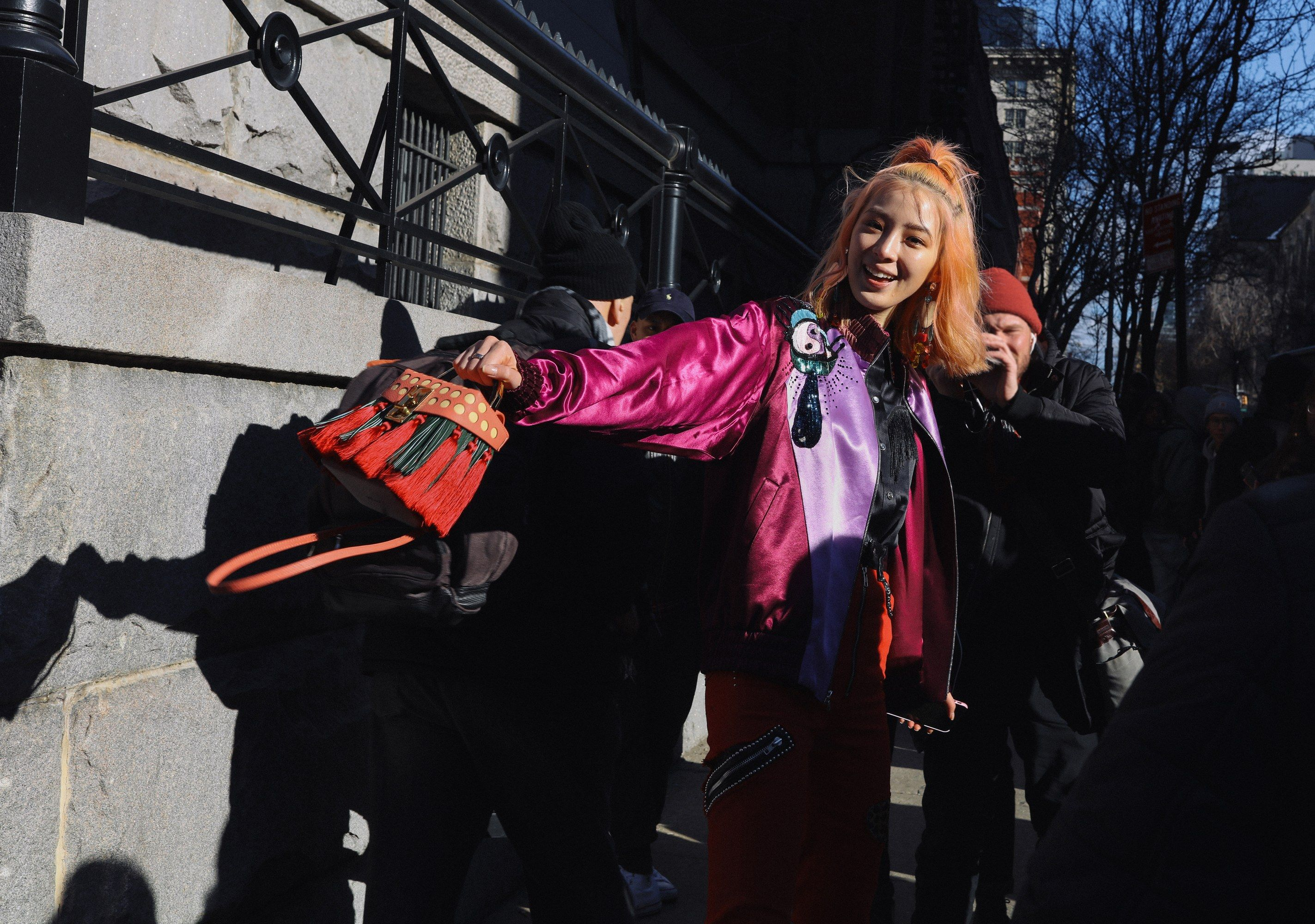 Irene Kim in Marc Jacobs