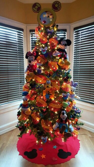mickey clubhouse christmas tree mickey mouse christmas tree christmas decorations for kids kids christmas